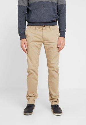 Chino kalhoty - chinchilla brown