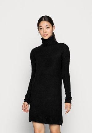 VMLUCI ROLLNECK DRESS - Jumper dress - black