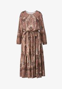 Sara Lindholm - WEB - Maxi dress - braun/smaragd - 3