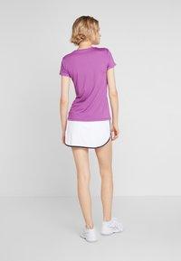 Lotto - SQUADRA SKIRT - Sportovní sukně - brilliant white - 2