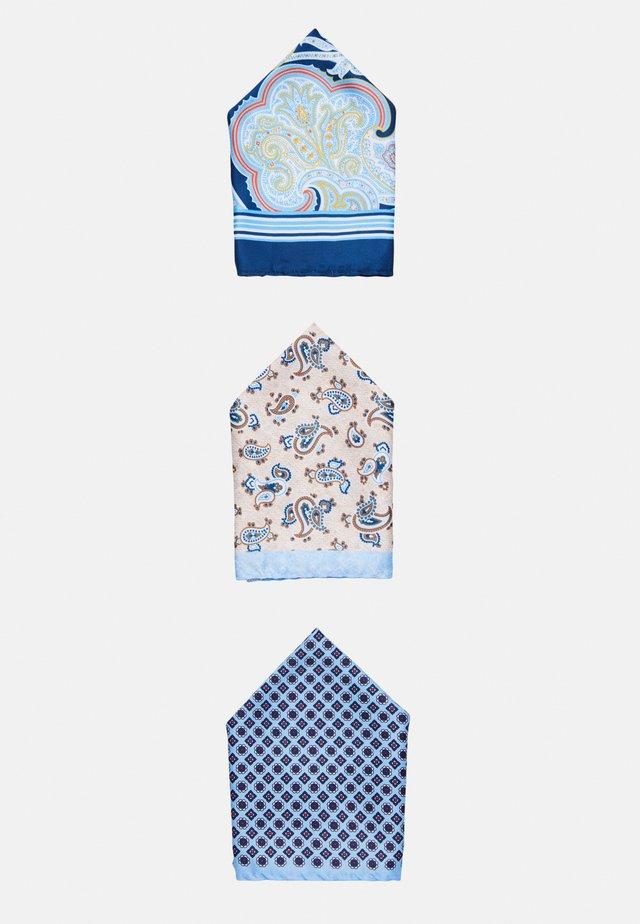 JACJONAS HANKIE BOX 3 PACK - Mouchoir de poche - cashmere blue