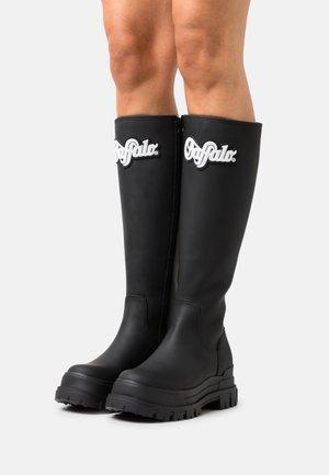 VEGAN ASPHA RAIN HI - Wellies - black