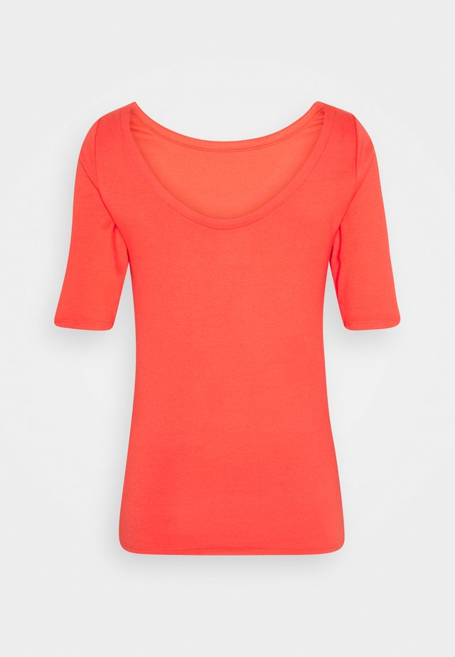 MOD BALLET - Print T-shirt - new coral
