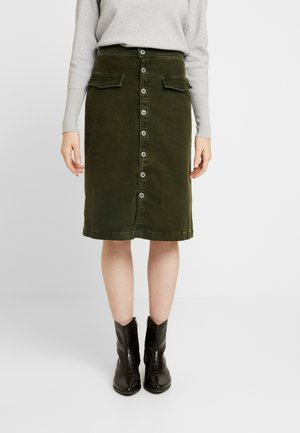 SELENA - Pencil skirt - green