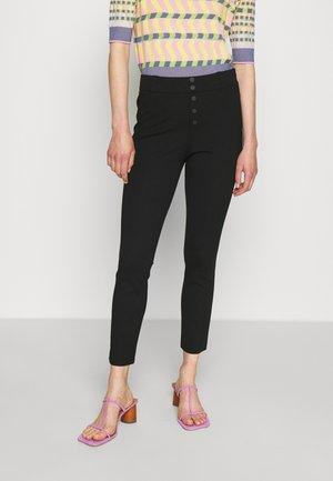 BRENDA FASHION PANTS - Kalhoty - black