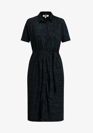 DAMES MET DESSIN - Shirt dress - dark green