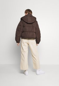 Sixth June - SHORT PUFFER JACKET HOOD - Winter jacket - brown - 2