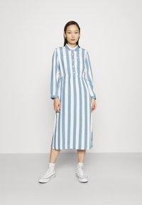 Lee - WORKER DRESS - Shirt dress - dawn blue - 0