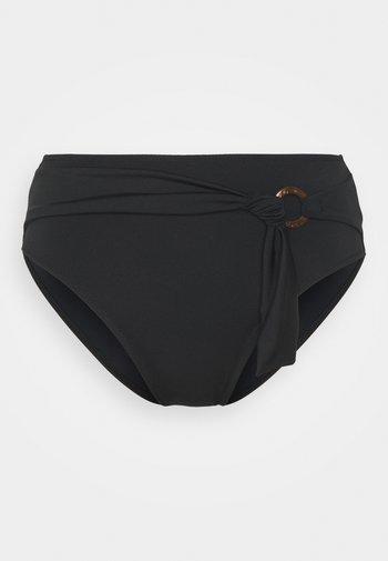 COCO WAVE HIGH WAIST BRIEF - Bikini bottoms - black