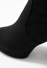 Even&Odd Wide Fit - WIDE FIT - High heeled ankle boots - black - 2