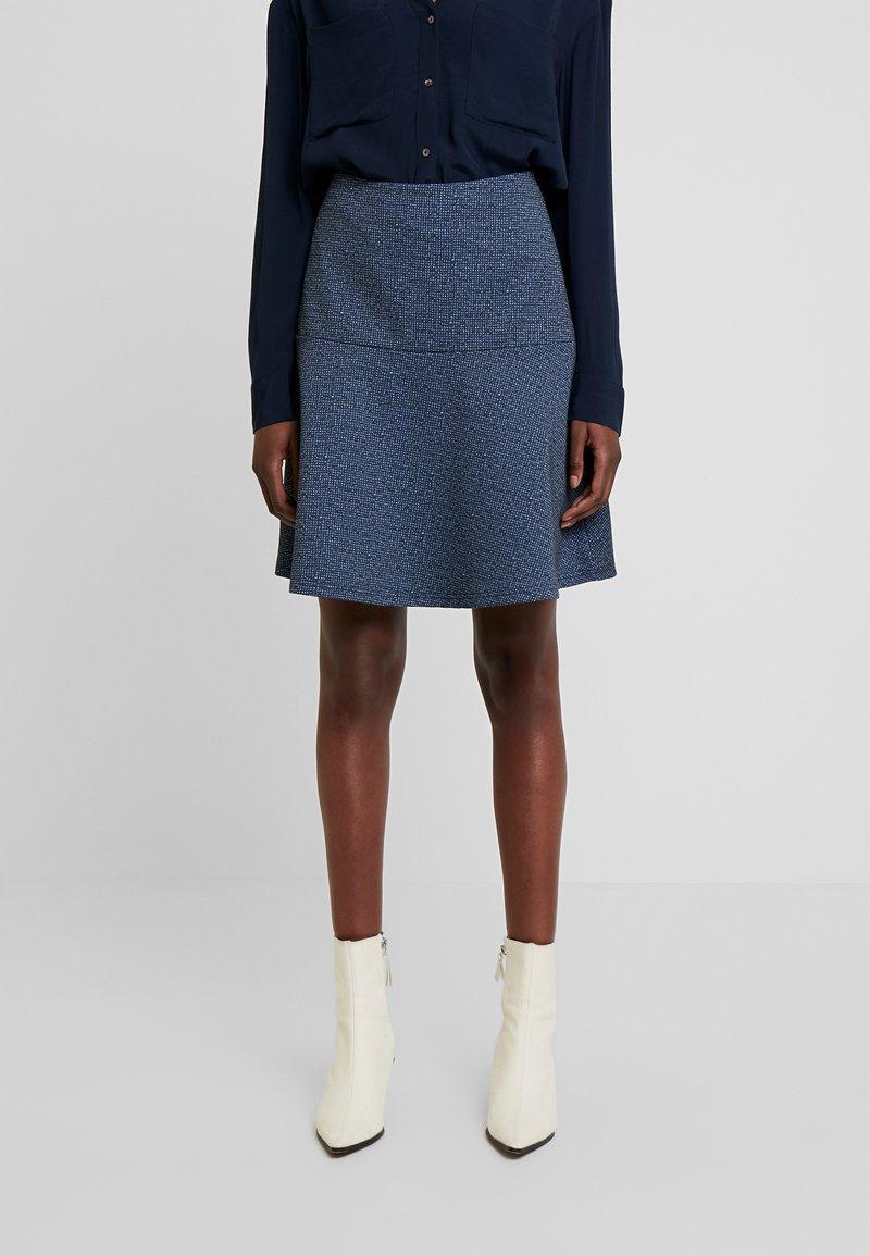 TOM TAILOR - SKIRT CASUAL - Mini skirt - navy blue