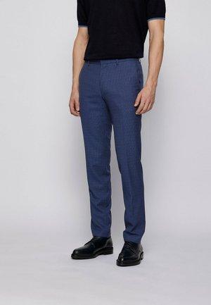 BEN - Suit trousers - open blue