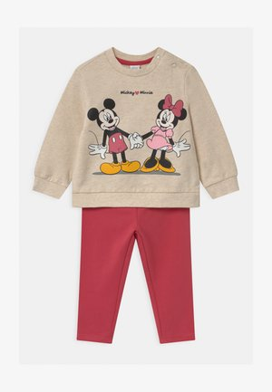 MINNIE SET - Sweatshirt - light beige melange