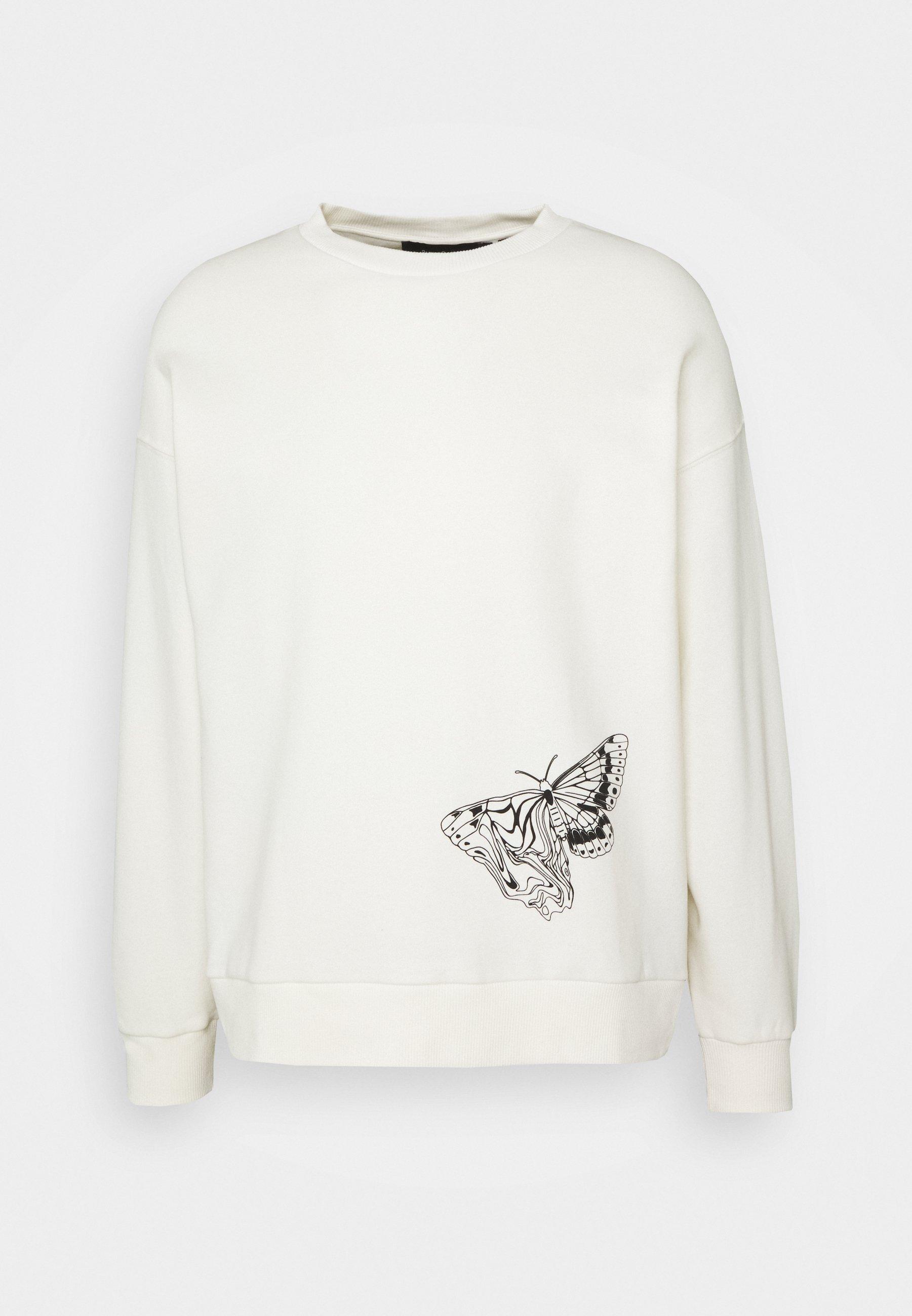 Men Byron Denton x NU-IN MELTED BUTTERFLY - Sweatshirt