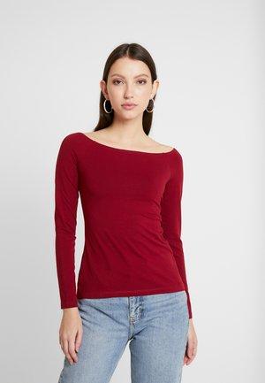 BASIC - T-shirt à manches longues - biking red