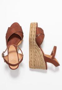 Castañer - BLAUDELL - Sandály na vysokém podpatku - marron - 3