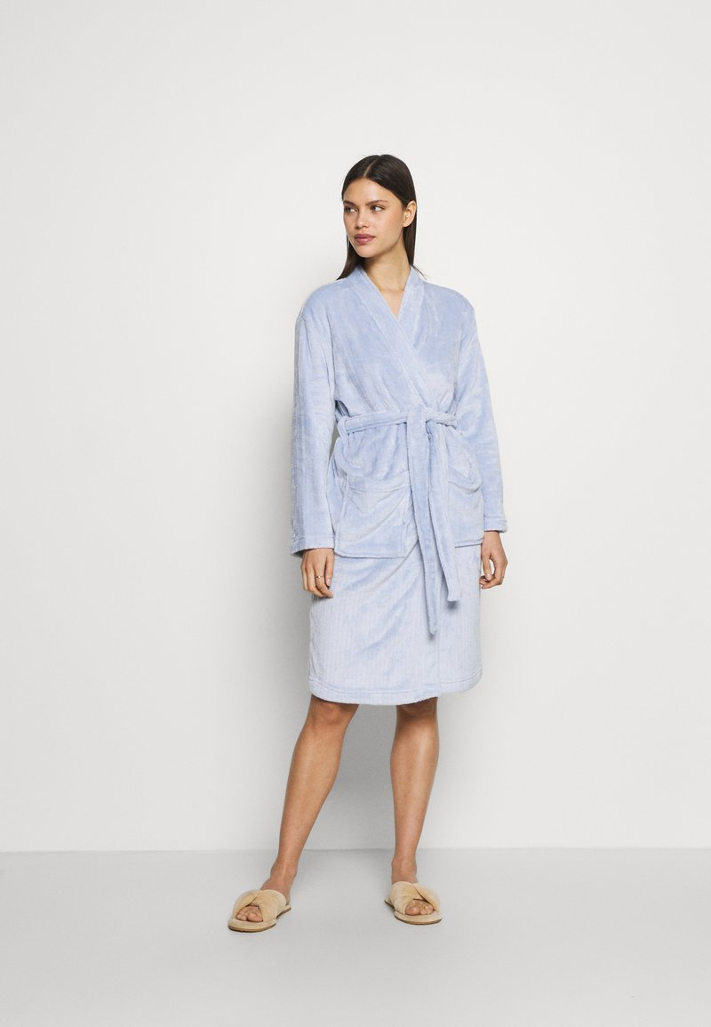 Marks & Spencer London - DRESSING GOWN AND COVER UPS - Dressing gown - light blue