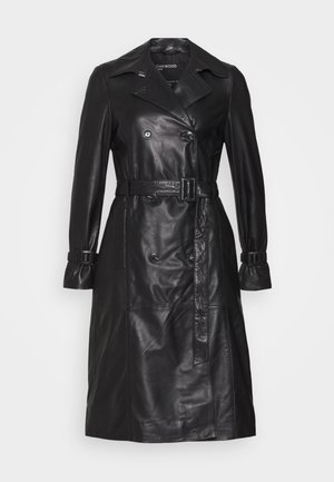 JOURNAL - Trenchcoat - black