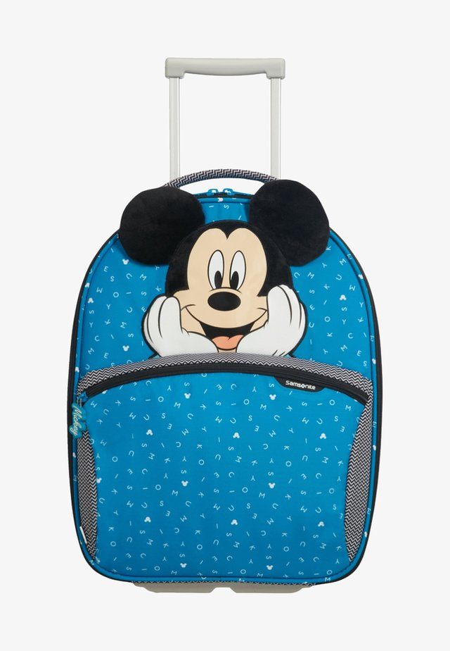 DISNEY ULTIMATE - Wheeled suitcase - blue