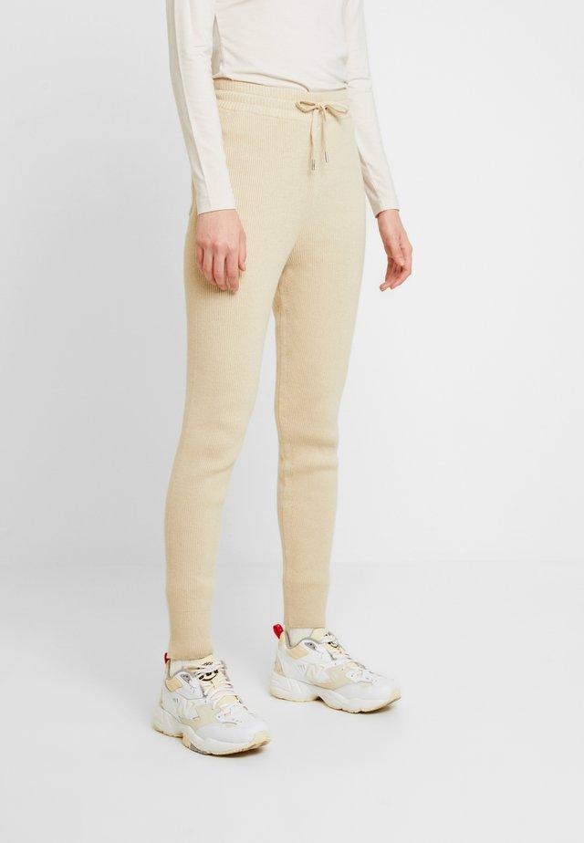 STINE - Pantalon classique - sand melange