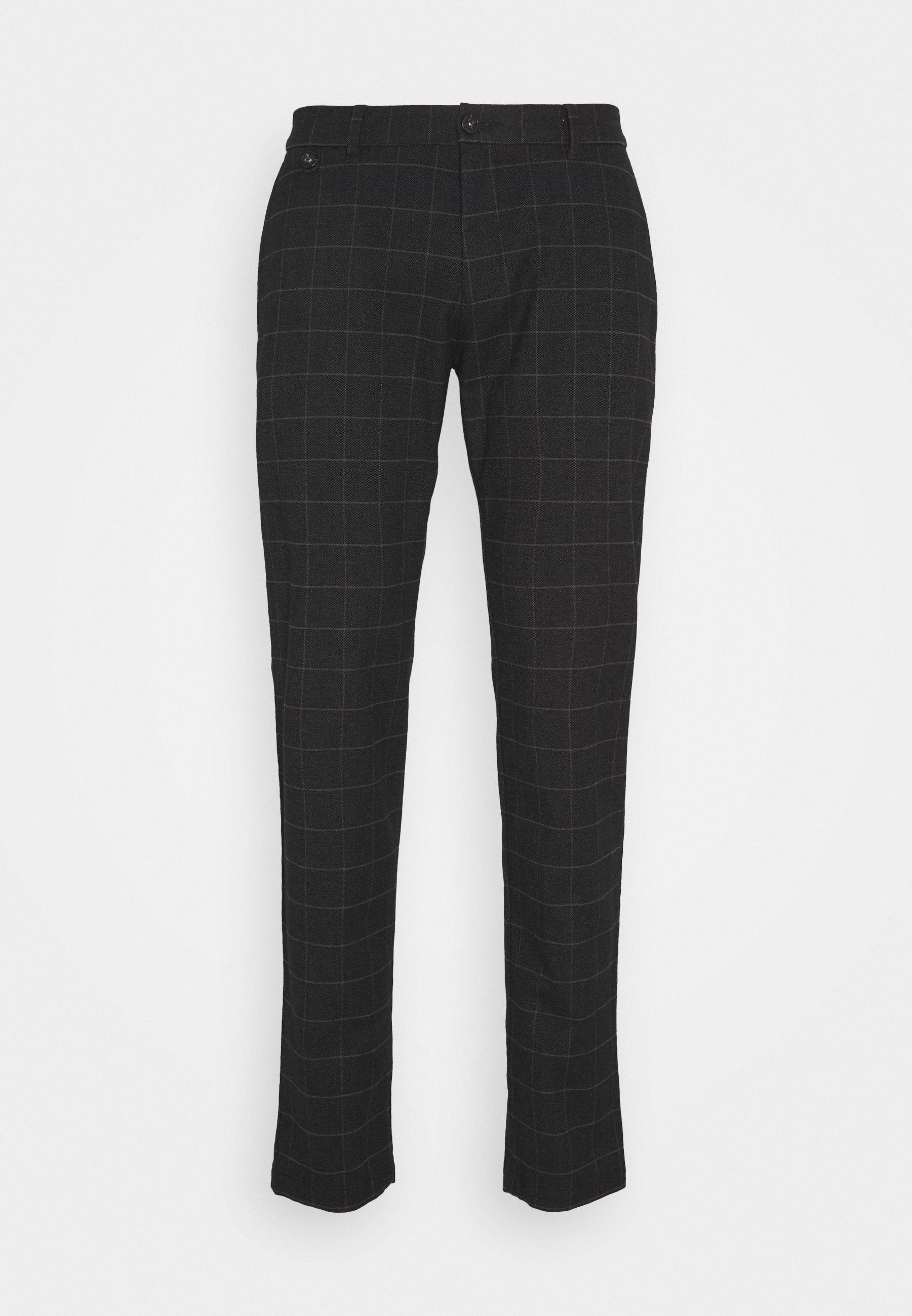 Bugatti Spodnie Materiałowe - Dark Grey