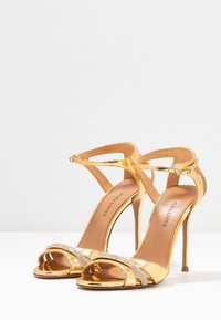 Pura Lopez - High heeled sandals - mirror gold - 4