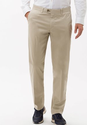 STYLE JIM S - Trousers - beige
