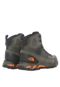 The North Face - M CRESTVALE FUTURELIGHT - Hiking shoes - new taupe green/tnf black - 3
