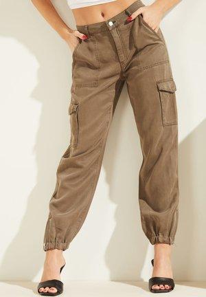 Cargo trousers - braun