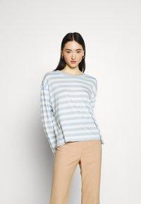 Monki - Long sleeved top - blue light/rost - 3