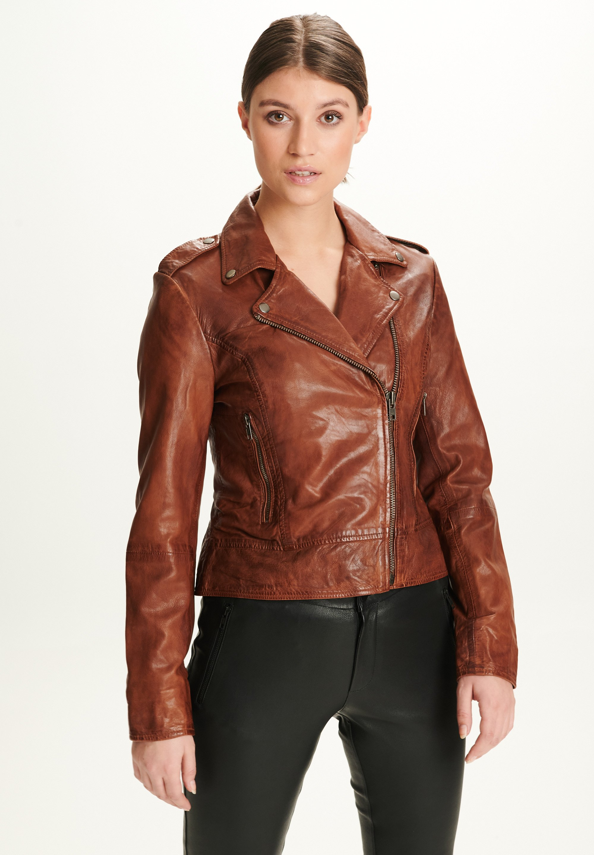 Femme PETRA - Veste en cuir