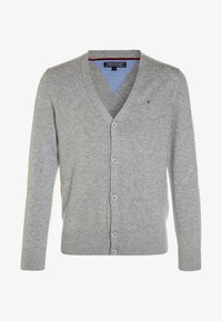 Tommy Hilfiger - BOYS BASIC CARDIGAN - Kardigan - grey heather - 0