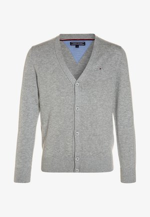 BOYS BASIC CARDIGAN - Chaqueta de punto - grey heather