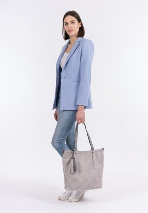 SURPRISE - Shopping bag - lightgrey grey