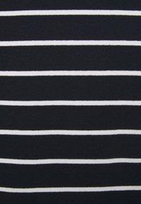 Lauren Ralph Lauren Woman - JUDY ELBOW SLEEVE - Basic T-shirt - lauren navy/white - 2