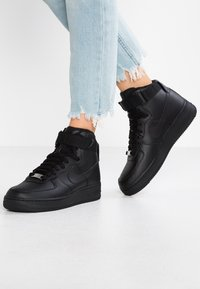 Nike Sportswear - AIR FORCE 1 - High-top trainers - black - 0