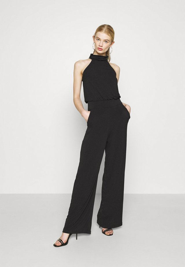 TURTLE LONG  - Tuta jumpsuit - black