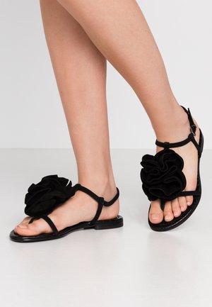 ELLE - T-bar sandals - schwarz/black