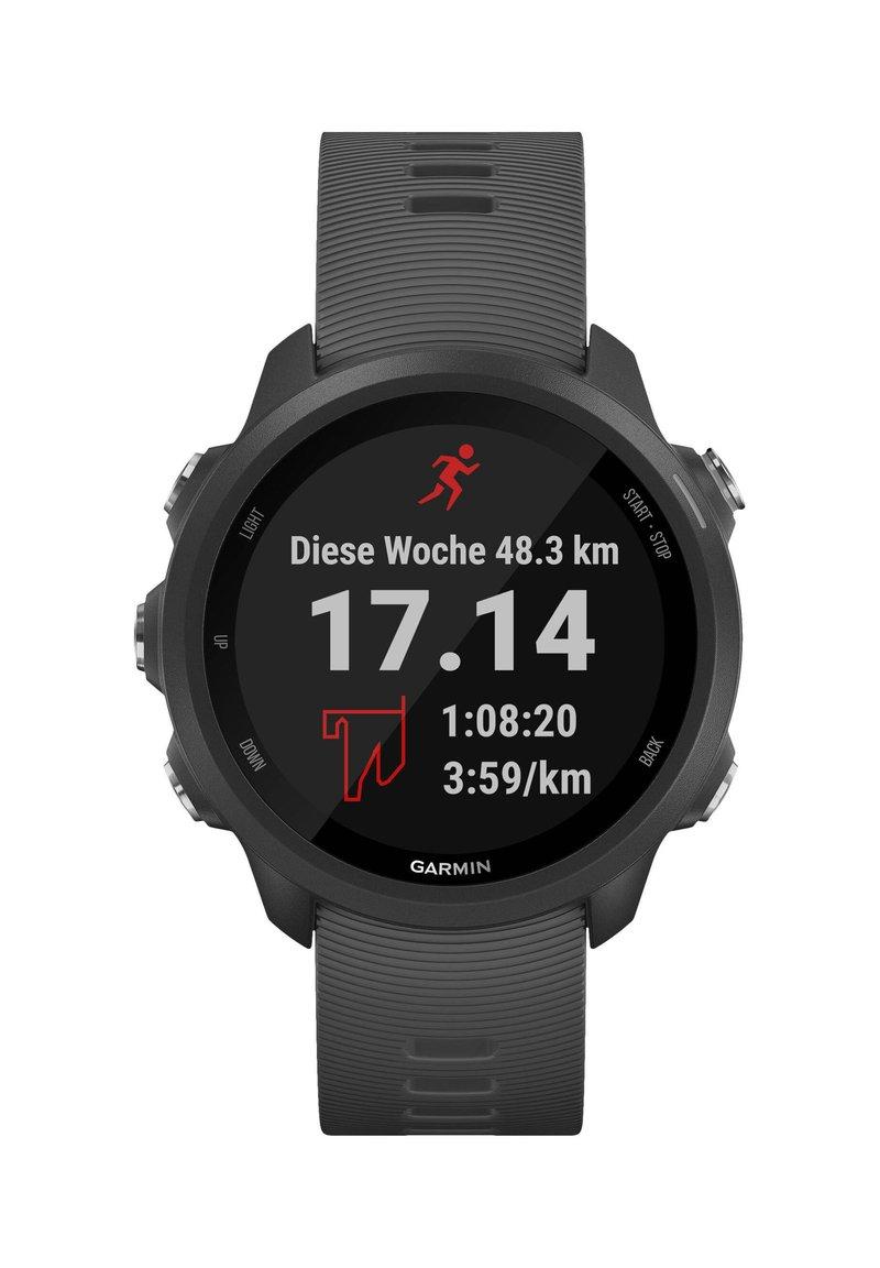 """Garmin - GARMIN GPS-LAUFUHR """"FORERUNNER 245"""" GRAUES ARMBAND - Smartwatch - black"""