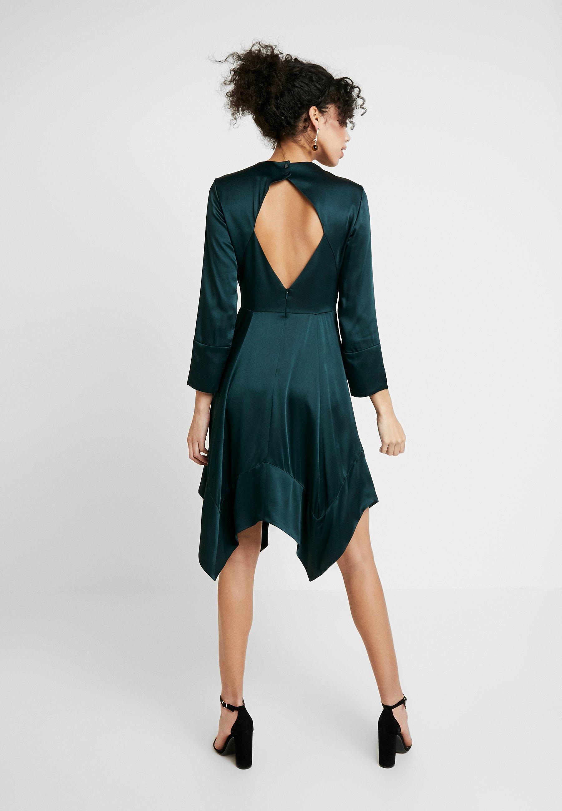 Duża obniżka Duża obniżka IVY & OAK Sukienka koktajlowa - bottle green | Odzież damska 2020 kWoWU