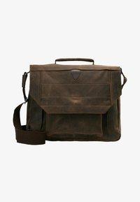 Strellson - HUNTER BRIEFBAG - Laptop bag - dark brown - 5