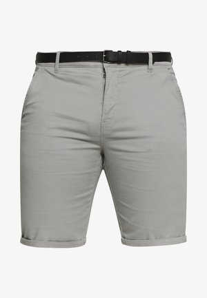 CLASSIC BELT PLUS - Shorts - silver