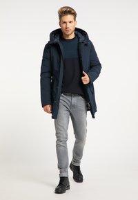 Mo - Winter coat - marine - 1