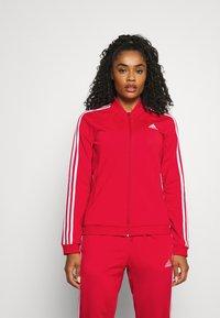adidas Performance - Tracksuit - vivid red/white - 0
