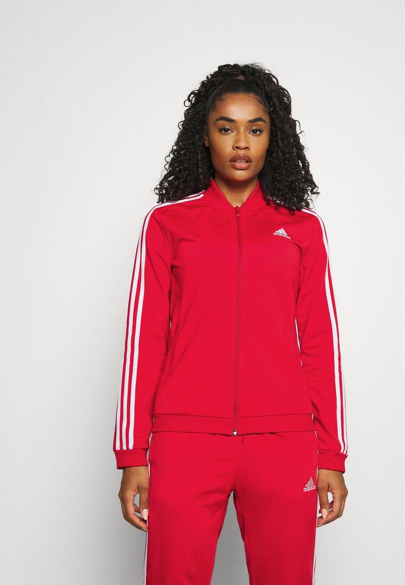 adidas Performance - Tracksuit - vivid red/white