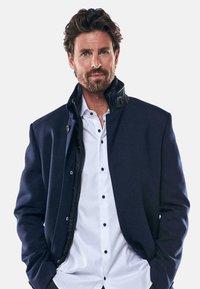 Engbers - Classic coat - blau - 3