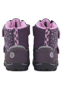 Lurchi - KINA-SYMPATEX - Touch-strap shoes - dunkellila - 3