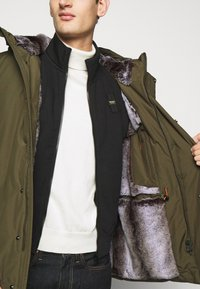 Save the duck - COPY - Winter jacket - thyme green - 3