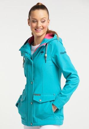 Outdoorová bunda - turquoise