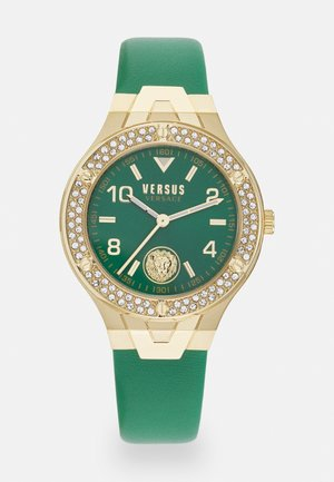 VITTORIA - Orologio - gold-coloured/green